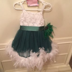 Other - Custom feather dress. Worn once for pictures.